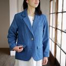 エシカルヘンプジャケット type H 正藍染め藍色