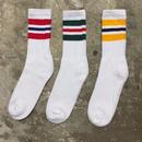 Striped Crew Socks 3Pair (MEN'S SIZE)
