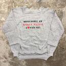 80's LOVES ME Printed Sweatshirt