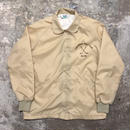 80's turfer Round Collar Nylon Coach Jacket