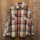 70's BIG MAC Heavy Flannel Shirt BEIGE×NAVY×BROWN×GREEN