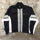 90's NIKE Nylon Jacket BLACK×WHITE