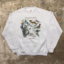 90's FRUIT OF THE LOOM Backyard Birds Sweatshirt