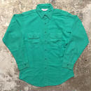 80's Five Brother Chamois Cloth Shirt GREEN