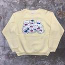80's  Sportswear Cats Sweatshirt