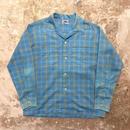 60's TOWN CRAFT Open Collar Shirt