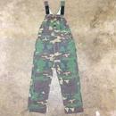 90's LIBERTY Woodland Camo Overall