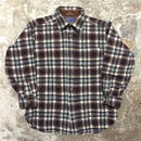 70's PENDLETON Wool Shirt BLUE×BLACK×RED