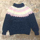 80's~ danspun Wool Sweater