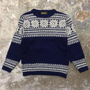 70's NORTH CAPE Nordic Sweater