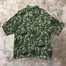puritan Rayon Aloha Shirt GREEN