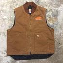 Carhartt Duck Quilting Lining Vest