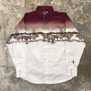 90's BROOKS &DUNN Printed Western Shirt