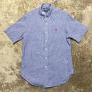 Polo Ralph Lauren Linen B.D Shirt BLUE STRIPE