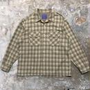 PENDLETON Wool Board Shirt KHAKI