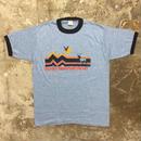 80's sportswear Ringer Tee(Dead Stock)