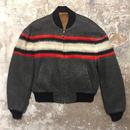 60's CAMPUS Wool Reversible Jacket