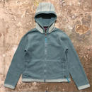 Patagonia Synchilla Fleece Hooded Jacket BLUE GREEN
