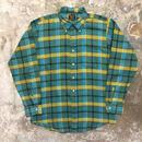 70's Sears B.D Plaid Shirt