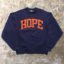 90's FRUIT OF THE LOOM HOPE Sweatshirt