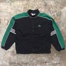 90's adidas Nylon Jacket BLACK×GREEN