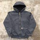 90's~ Carhartt Zip Hooded Sweat Jacket
