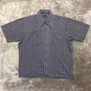 70's JCPenney Plaid Box Shirt