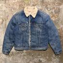 70's Levi's 70605 Denim Boa Jacket