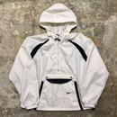 90's NIKE Nylon Anorak WHITE×BLACK