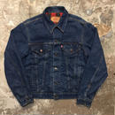 80's Levi's 70411 Flannel Lining Denim Jacket