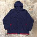 90's NIKE Hooded Nylon Jacket NAVY×RED