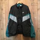 90's NIKE Nylon Jacket BLACK×GREEN