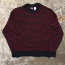 80's Woolrich Birds Eye Wool Sweater