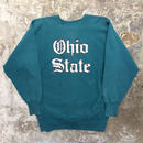 90's Champion REVERSE WEAVE Sweat Shirt Ohio State Green (SIZE : XXL)