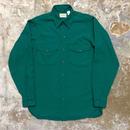90's L.L.Bean L/S Work Shirt GREEN