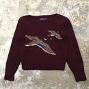 Ralph Lauren Hand Knit Wool Sweater