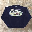 90's  Hanes Sea Otter Sweatshirt