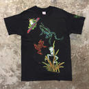 90's  FRUIT  OF THE LOOM Frog Tee