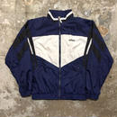 90's adidas Nylon Jacket NAVY×BLACK×WHITE