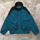 90's Columbia Nylon Jacket GREEN× BLACK×PURPLE