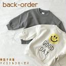【予約商品】韓国子供服 春物 ✭ GOOD DAY トレーナー ✭