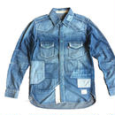 BLUE SAKURA - DENIM SHIRT H/USED
