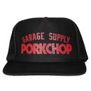 PORKCHOP - PRINT CAP (ブラック)