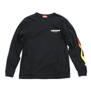 COOKMAN - Long sleeve Tシャツ「FLAMES」