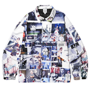BORN X RAISED - SHERM ALL OVER PRINT COACH JACKET