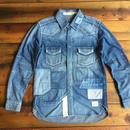 BLUE SAKURA - DENIM SHIRT H/USED