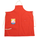 COOK MAN - Long Apron 「Stripe」 Orange