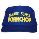 PORKCHOP - PRINT CAP (ブルー)