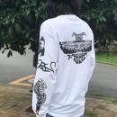 """""""A.Kiedis Tattoo"""" Tシャツ L/S"""