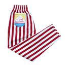 COOK WEAR - Chef Pants「ワイドストライプ」レッド